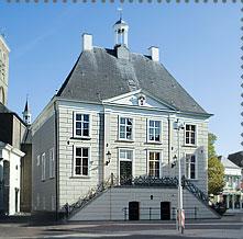 Raadhuis op de Markt van Roosendaal