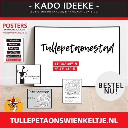 Kado idee Posters Tullepetaonestad