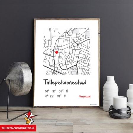Schilderij - poster Roosendaal