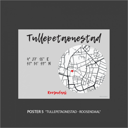 Poster Tullepetaonestad Roosendaal