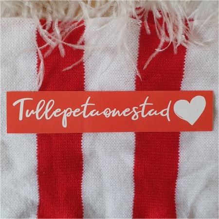 I love Tullepetaonestad auto sticker