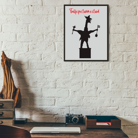 Unieke poster Tullepetaon