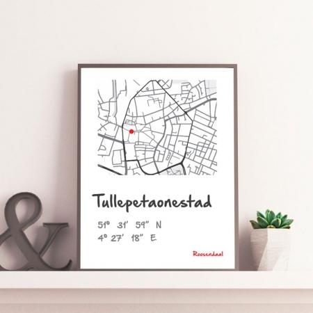Stadkaart Roosendaal